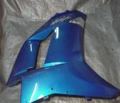07-08 Kawasaki ZX6 Fairing - Right Mid