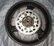 99-00 Honda CBR 600 F4 Rear Wheel with Sprocket and Rotor