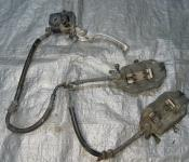 01-06 Honda CBR F4i Front Master Cylinder, Brake Lines and Calipers