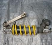 03-04 Suzuki GSXR 1000 Rear Shock and Linkage