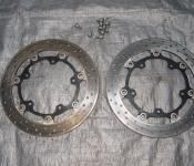 03-05 Yamaha R6 / 06-10 R6s Front Rotors and Bolts