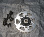03-05 Yamaha R6 / 06-10 R6s Aftermarket Vortex 435-50 Rear Sprocket and Cush Drive Assy.