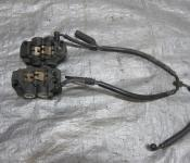 06-07 Yamaha YZF R6 Front Brake Lines and Calipers