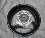 08-11 Suzuki GSXR 1300 Hayabusa Rear Wheel with Sprocket and Rotor