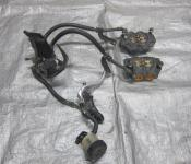 06-07 Yamaha YZF R6 Front Master Cylinder, Brake Lines and Calipers