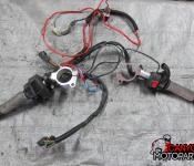 11-15 Kawasaki ZX10R Left and Right Clipons with Controls and Heated Grips