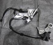 12-14 Honda CBR 1000RR Right Rearset and Rear Caliper