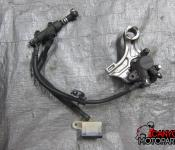 13-17 Honda CBR 600RR Rear Master Cylinder, Brake Lines and Caliper