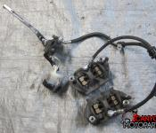 09-11 Suzuki GSXR 1000 Front Master Cylinder, Brake Lines and Calipers