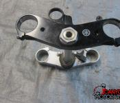 08-14 Yamaha YZF R6 Upper and Lower Triple Tree with Steering Stem