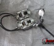 11-16 Suzuki GSXR 600 750 Front Master Cylinder, Brake Lines and Brembo Calipers