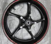 08-14 Yamaha YZF R6 Front Wheel - STRAIGHT