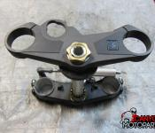 09-11 Suzuki GSXR 1000 Upper and Lower Triple Tree with Steering Stem