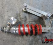 08-16 Yamaha YZF R6 Rear Shock and Linkage