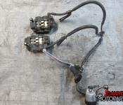 08-16 Yamaha YZF R6 Front Master Cylinder, Brake Lines and Calipers