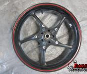 08-16 Yamaha YZF R6 Front Wheel - STRAIGHT