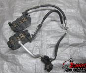 09-12 Yamaha YZF R1 Front Master Cylinder, Brake Lines and Calipers