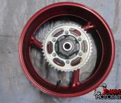 11-18 GSXR 600 750 Rear Wheel with Sprocket and Rotor
