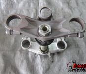 07-08 Kawasaki ZX6 Upper and Lower Triple Tree with Steering Stem