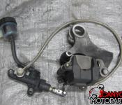 03-05 Yamaha R6 / 06-10 R6s Rear Master Cylinder, Brake Lines and Caliper