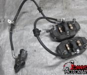 08-09 Suzuki GSXR 600 750 Front Master Cylinder, Brake Lines and Calipers
