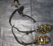 00-01 Honda CBR 929RR Front Master Cylinder, Brake Lines and Calipers