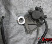 08-14 Yamaha YZF R6 Rear Master Cylinder and Brake Line