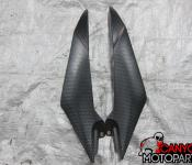 08-14 Yamaha YZF R6 Fuel Tank Accent Panels