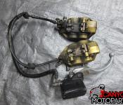 03-04 Honda CBR 600RR Front Master Cylinder, Brake Lines and Calipers