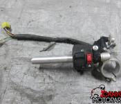 09-11 Suzuki GSXR 1000 Left Clipon and Controls