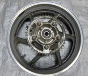 95-96 Honda CBR 600 F3 Rear Wheel with Sprocket and Rotor