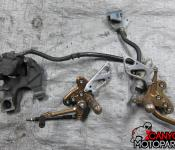 08-11 Suzuki GSXR 1300 Aftermarket Pro Tech Adjustable Rearsets