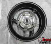 08-11 Suzuki GSXR 1300 Rear Wheel with Sprocket and Rotor