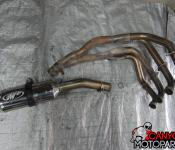 08-11 Suzuki GSXR 1300 Full M4 4 into 1 Exhaust Headers Slipon