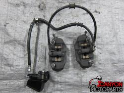 08-11 Suzuki GSXR 1300 Front Master Cylinder, Brake Lines and Calipers