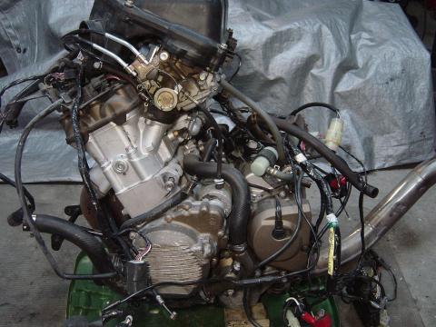 00 02 kawasaki zx6r 05 08 zzr600 engine canyon moto parts. Black Bedroom Furniture Sets. Home Design Ideas