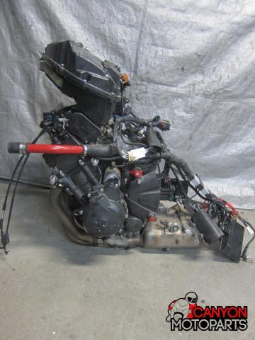 08-16 Yamaha YZF R6 Engine   Canyon Moto Parts
